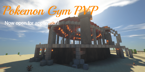 Pokemon Gym PVP. Now open for application!