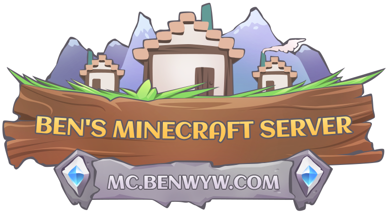 Server IP: mc.benwyw.com